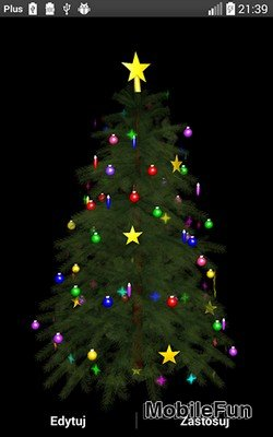 Christmas Tree 3D by Zbigniew Ross (Рождественская елка 3D)