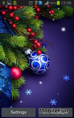 Christmas by Hq Awesome Live Wallpaper (Рождество)