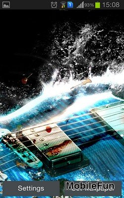Guitar by Happy Live Wallpapers (Гитара)