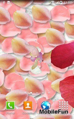 Petals 3D by Blackbird Wallpapers (Лепестки 3D)