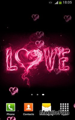 I Love You by Lux Live Wallpapers (Я люблю тебя)