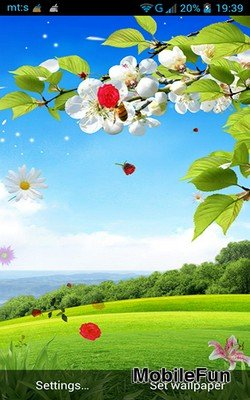 Spring by Pro Live Wallpapers (Весна)