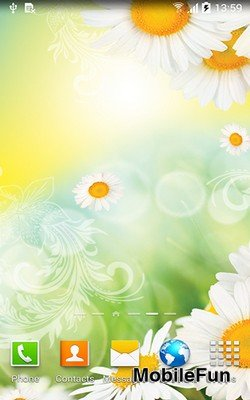 Daisies by Live Wallpapers (Ромашки)