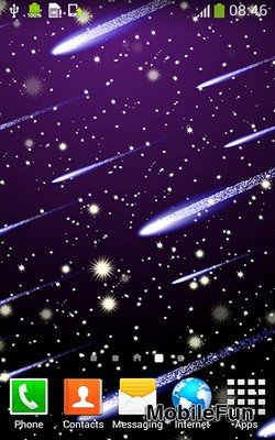 Meteor Shower by Live Wallpapers Free (Метеоритный дождь)