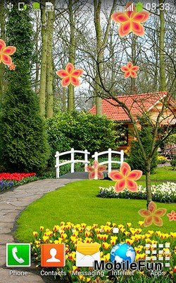 Garden by Cool Free Live Wallpapers (Сад)