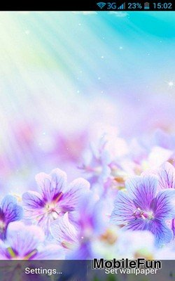 Summer Flowers by Dynamic Live Wallpapers (Летние цветы)